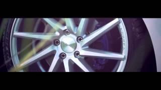 Download White A3 Sportback on Vossen Wheels CVT 19' Video