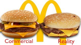 Download McDonald's Ads vs The Real Thing Video