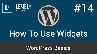 Download WordPress Basics #14 - How To Use Widgets Video