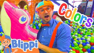 Download Learn Colors and Learn Shapes with Blippi | Educational Indoor Play Place Video