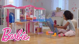 Download The Interactive Barbie ″Hello Dreamhouse″ at Play | Barbie Video
