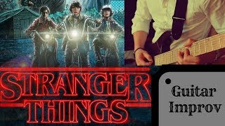 Download Synthwave Guitar | Stranger Things Theme Song Video