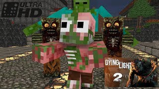 Download Monster School : Dying Light Challenge - Minecraft animation Video