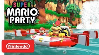Download Super Mario Party - River Survival Mode - Nintendo Switch Video