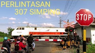 Download Perlintasan Kereta Api JPL 307 Simping Video