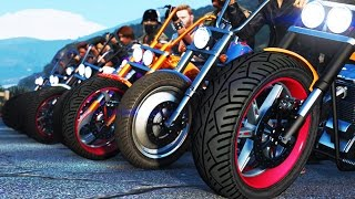 Download GTA 5 BIKERS & GANG WARS! - GTA 5 CUSTOM BIKES & GANG WARS - (GTA 5 Funny Moments) Video