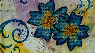 Download 6 x 6 Mixed Media Challenge - Flourishes - #ArtfulEvidence Video