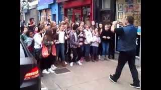Download Zayn Malik from One Direction leaves Tattoo Shop in London Video