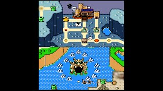 Download 7/9- SMW (SNES) (100%) / World 7: Valley of Bowser [CC] [4:3-FHD@60fps] Video