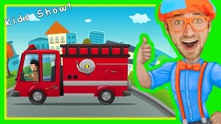 Download Fire Truck Song for Children | Nursery Rhymes with Blippi Video