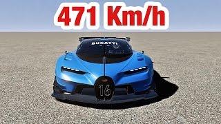 Download Bugatti Vision Gran Turismo - Top Speed 471 Km/h Video