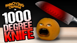 Download Annoying Orange - 1000 Degree Knife! Video