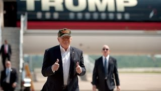 Download Trump trades private fleet for Air Force One Video