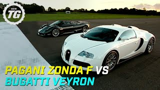 Download Pagani Zonda F vs Bugatti Veyron Drag Race - Top Gear - BBC Video