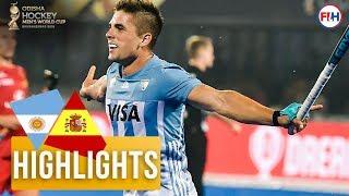 Download Argentina v Spain | Odisha Men's Hockey World Cup Bhubaneswar 2018 | HIGHLIGHTS Video
