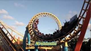 Download Mirabilandia Park - Clip montanha-russa Super Tornado - HD Video