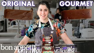 Download Pastry Chef Attempts to Make Gourmet Milky Way Bars | Gourmet Makes | Bon Appétit Video