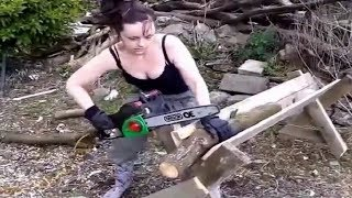 Download Amazing Best Home Wood Chipper Machine, Extreme Fast Firewood Processing Machines Video
