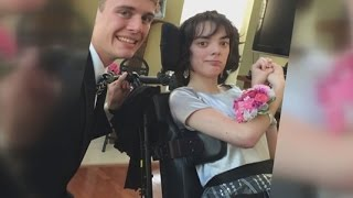Download A prom to remember for a teenager with a disability Video