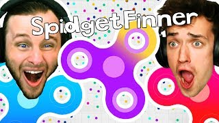 Download FIDGET SPINNER GAME?! Spinz.io CHALLENGE!! Video