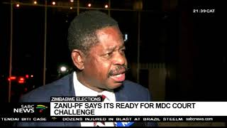 Download ZANU-PF responds to MDC's court challenge: Paul Mangwana Video