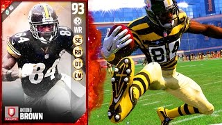 Download 93 OVERALL ANTONIO BROWN! THIS CARD FORCES RAGE QUITS! - Madden 17 Ultimate Team Video