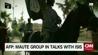 Download AFP: Maute group in talks with ISIS Video