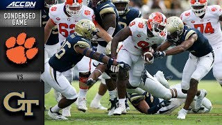 Download Clemson vs. Georgia Tech Condensed Game | 2018 ACC Football Video