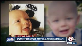 Download DCS report details prior investigation into Anderson toddler's injuries before his death Video