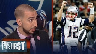 Download Patriots def Saints 36-20 in Week 2 of 2017-18 NFL season - Nick and Cris react | FIRST THINGS FIRST Video