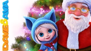 Download 🎄 Christmas Songs for Kids | Nursery Rhymes for Babies | Christmas Time with Dave and Ava ☃️ Video