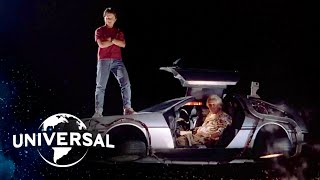 Download Back to the Future Trilogy | Every DeLorean Time Machine Scene Video