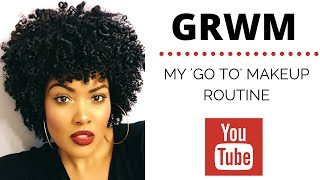 Download GRWM | My Go To Makeup Routine Video