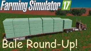 Download Rounding up bales at Far Custom Farms!#TeamScrunt Video
