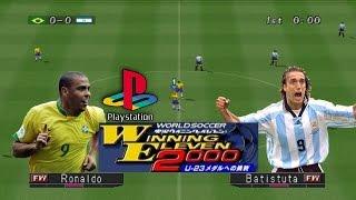 Download Brasil VS. Argentina - Winning Eleven 2000 [PS1] Video