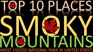 Download Top 10 Places to Visit in Smoky Mountains Video
