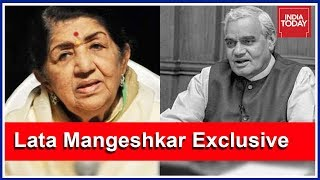 Download Lata Mangeshkar Greatly Admired Vajpayee. Hear What She Has To Say About Him! Video