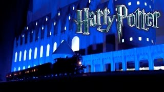 Download Amazing Harry Potter Christmas Light Show (watch till end!!!) Video