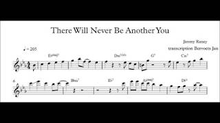 Download There Will Never Be Another You - Jimmy Raney Transcription Video