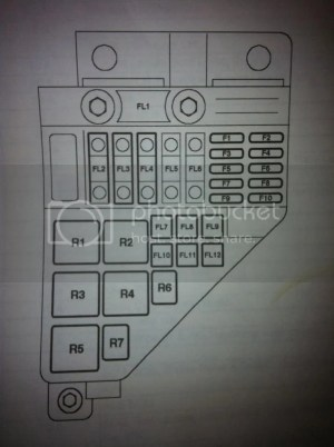 Fuse and relay diagram  MGRover Forums