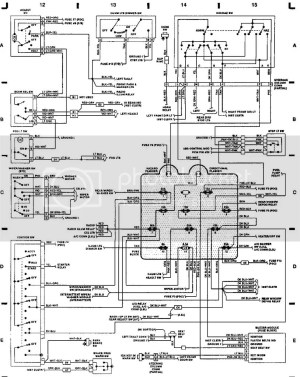 1993 Wrangler PCMECUECM Pinout Diagram?  JeepForum