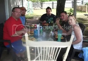 Troy, Josh, Thomas, my brother Chris and JoAnn