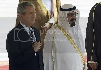President Bush and King Abdullah
