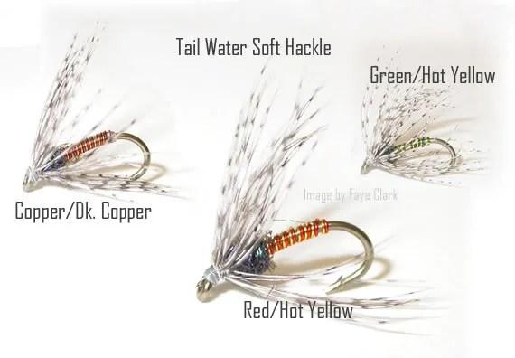Steves Tailwater Soft Hackles, tied by Teresa Van Winkle