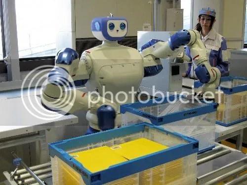 Robot cartero