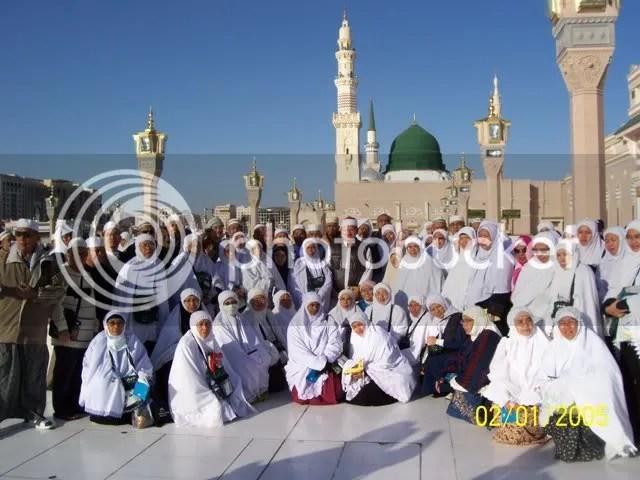 Bersama Rombongan Haji Malaysia di Madinah