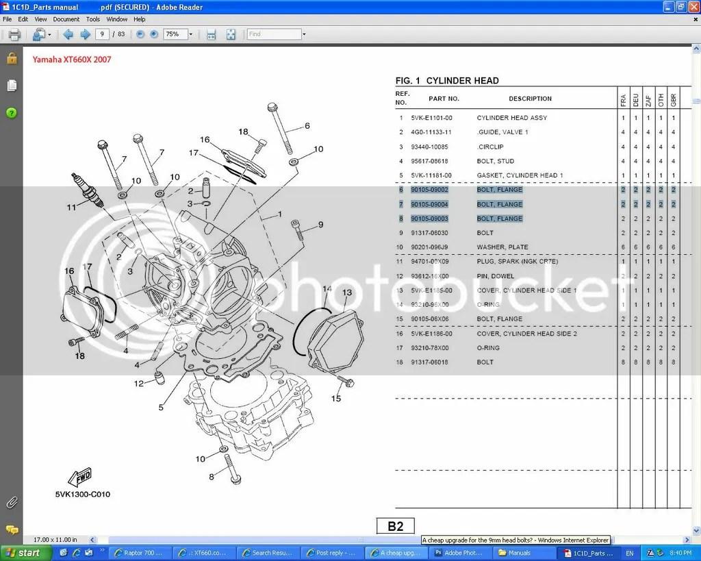 Yamaha Rhino 450 Parts Diagram