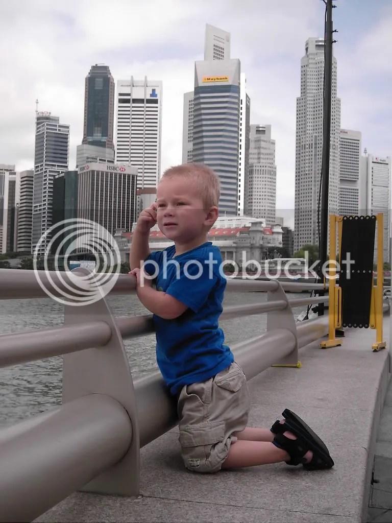 Kai in Singapore