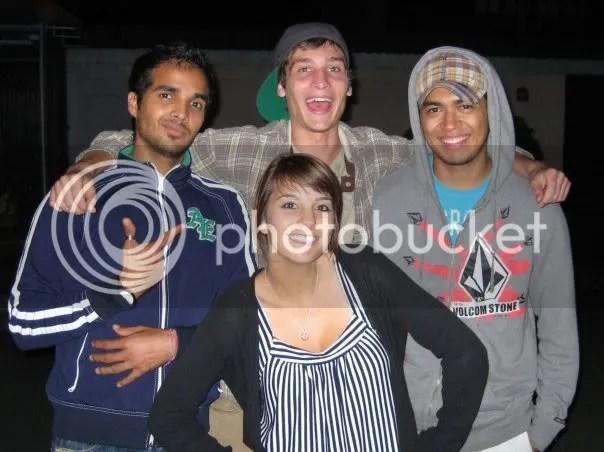Lito, Morgan, Chove and Ashley