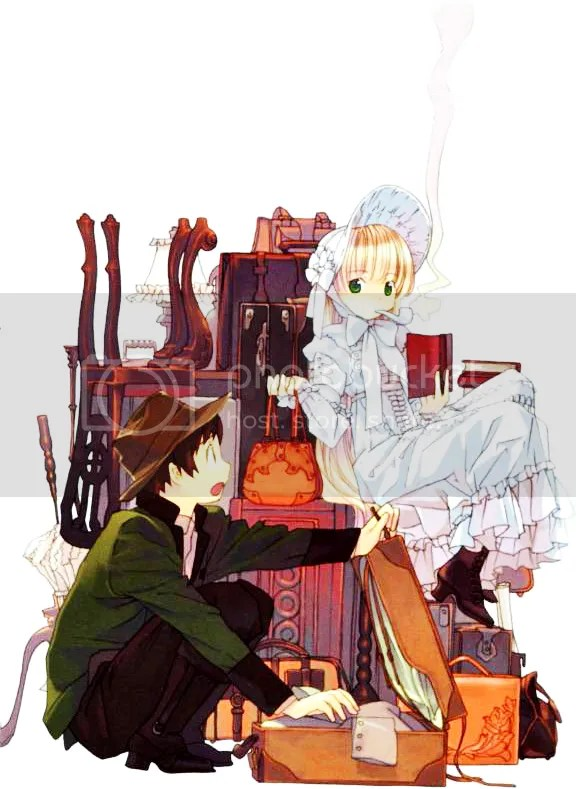 gosick, detective, light novel, loli, victorique, kazuya